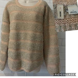 Anthropologie Moth Tinsel Chunky Sweater NWOT